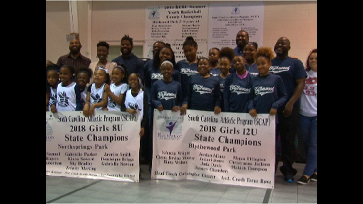 Blythewood Park Girls Teams Receive State Championship Banners